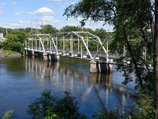 This bridge over the Mississippi River in Sartell hasn't