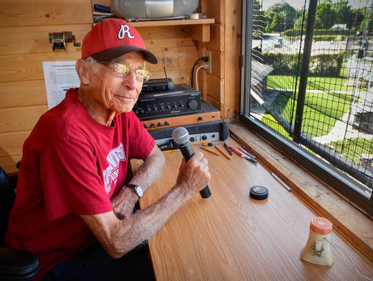 Jack Bell, 84, shown here Tuesday, has announced games