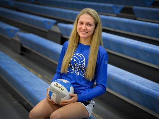 Sartell senior setter Ailsa Watson helped lead the
