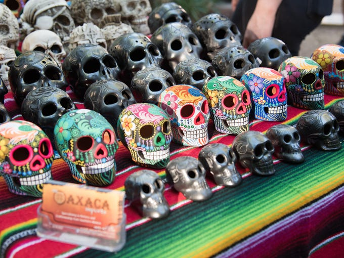 The third annual Dia de los Muertos Festival on Sunday,
