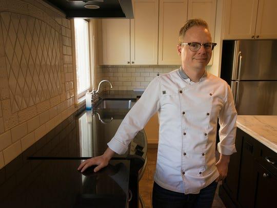 Chef Jim Smith,  Alabama Governor's chef, at the governor's