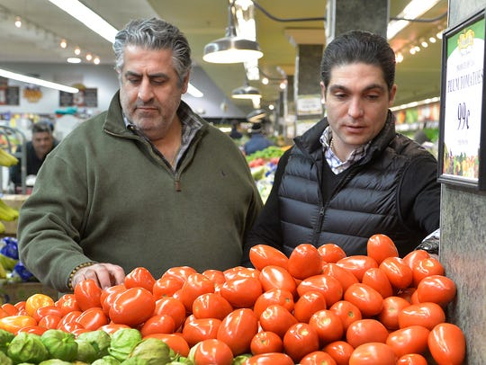 Grandsons of the founder, James Corrado and his cousin Ryan Held are patrolling the produce aisles at Corrado's Market in Clifton.