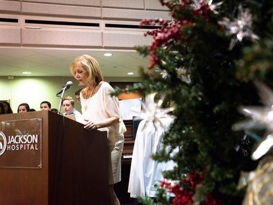 Janet McQueen, Jackson Hospital Foundation president,