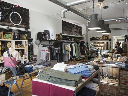 James Dant in Irvington, Indianapolis, Tuesday, June 21, 2016. The store specializes in men's clothing, accessories and body products.