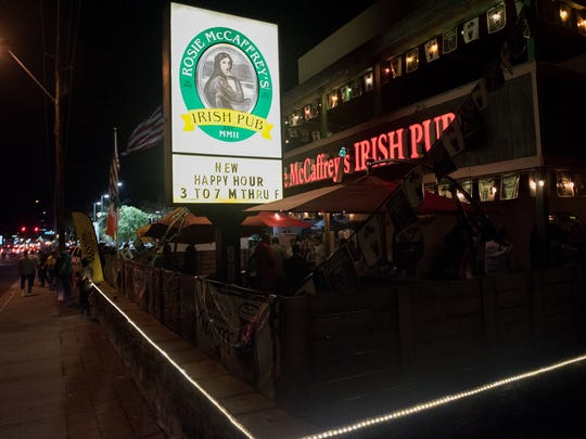 Rosie McCaffrey's is one of four Phoenix-area Irish bars from proprietor Seamus McCaffrey.