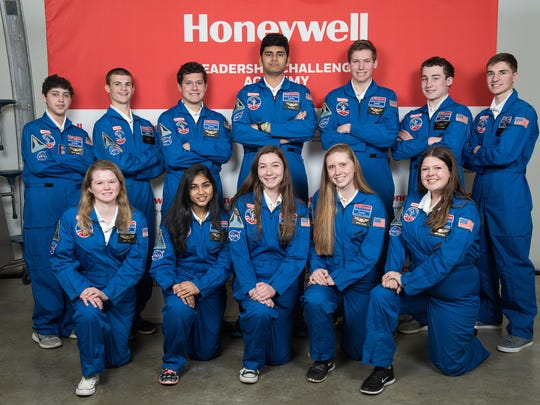 Three local high school students, John  Kay of Kinnelon,  Alexander Metcalf of West Milford, and Katarina Vucenovic of Lincoln Park who attends Boonton High School, were among the dozen from New Jersey too attended Honeywell Corporation's leadership conference held at the space center at Huntsville, Ala., last month.