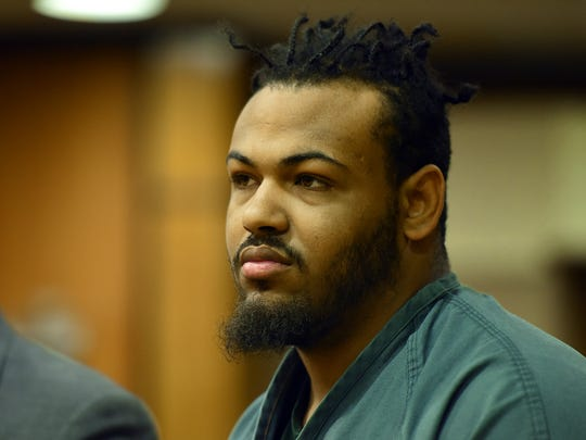 Hasmeek Coles in court on Wednesday in the killing of Armani Sexton in Paterson in 2015.