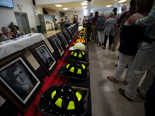 Plagues of Montgomery Firefighters who lost their lives