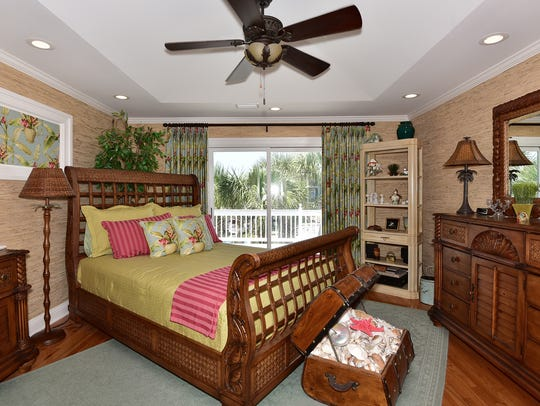135 Le Port Drive, step from the master bedroom onto