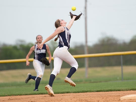 Chambersburg's Alexis Estep is one of three returning