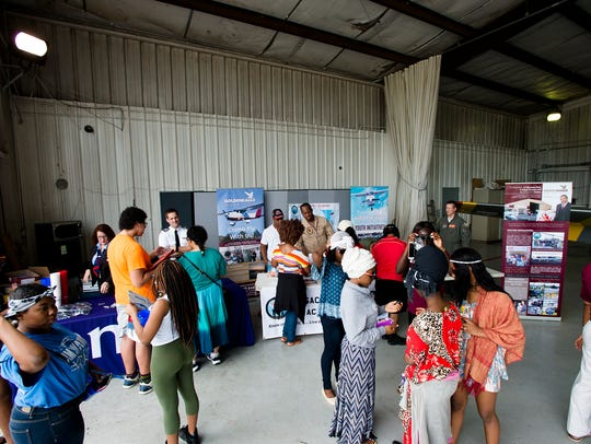 People attend the Montgomery Regional Air National