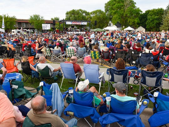 """Thousands of people gathered for Joetown Rocks Monday, July 3, in St. Joseph. The Killer Vees headlined Monday's concert with a performance called """"Remembering Bobby Vee."""""""
