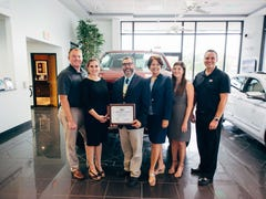 Dyer Difference award goes to American Cancer Society chapters this month