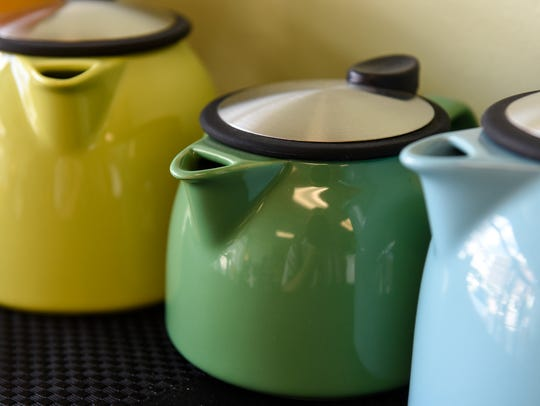 Tea pots are available Thursday, July 27, at Spice