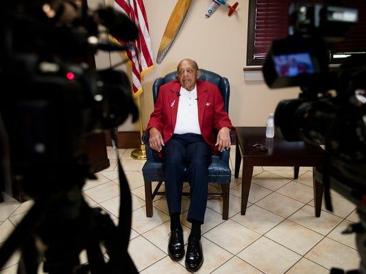 Tuskegee Airman Harold Brown