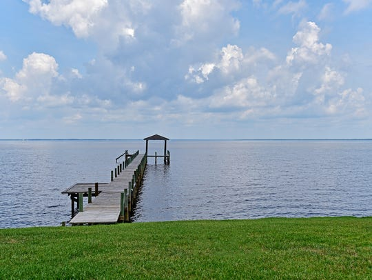 5716 E Bay Boulevard, the private dock on East Bay.