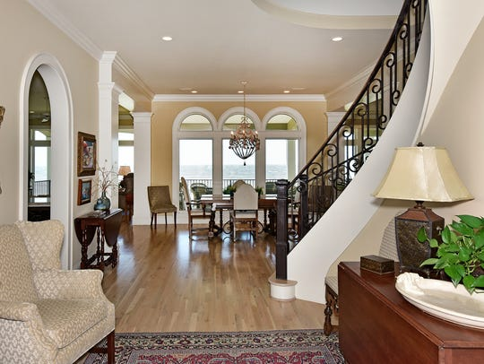 1218 Parasol Place, upon entering the home you can