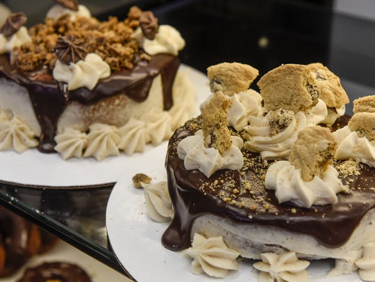 Many styles of gluten-free cakes are available Thursday,