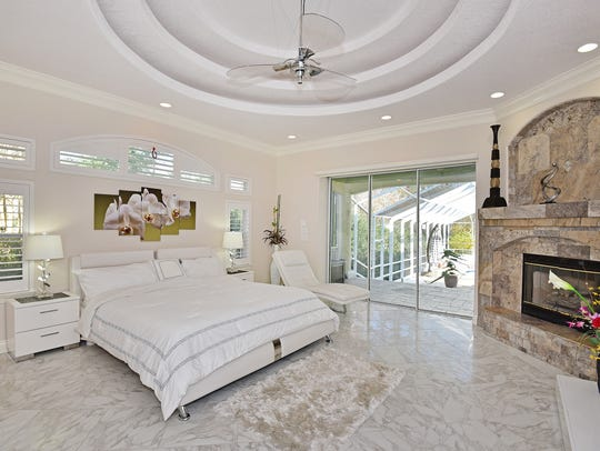 3421 Marcus Pointe Boulevard, the master bedroom with