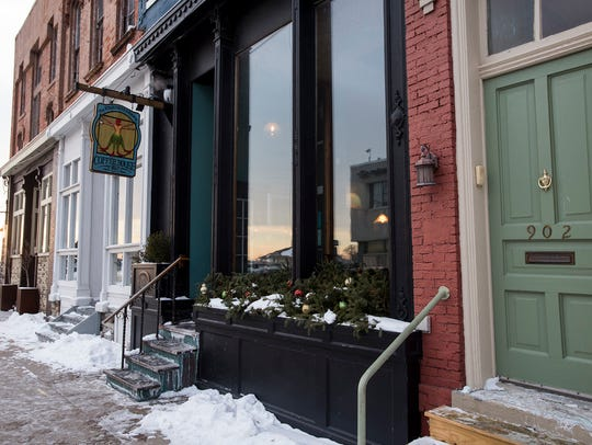The Exquisite Corpse Coffee House in downtown Port
