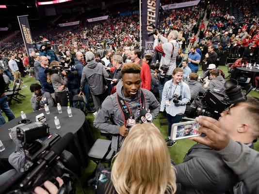 National Championship Alabama Media Day