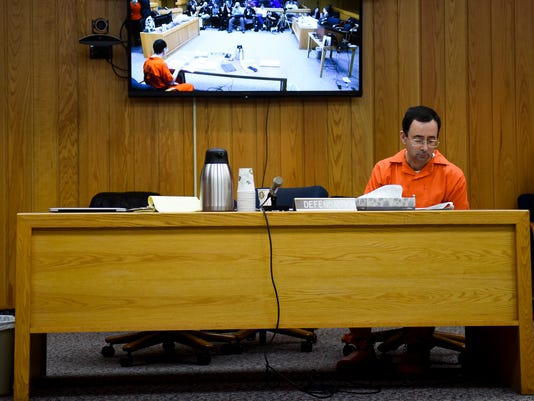 Day one - Eaton County Nassar sentencing - victim impact statements