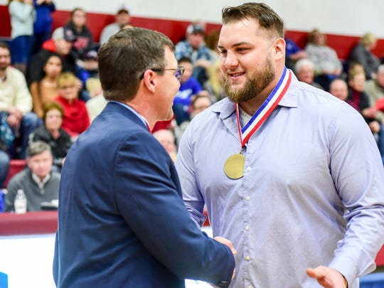 Former NFL player Tim Lelito reached out St. Clair athletic director Sandy Rutledge about volunteering with the track and field team last school year.