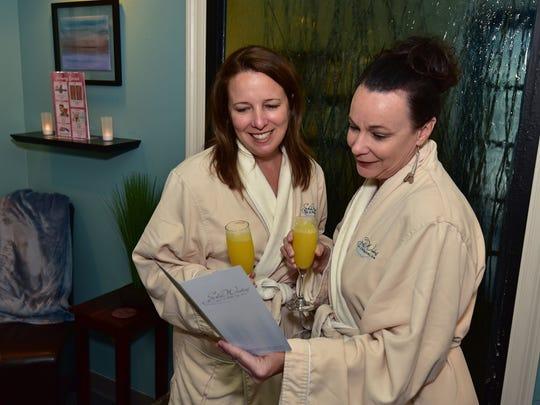 Kelly MacLeod and Lisa Sharp at Still Waters Medical