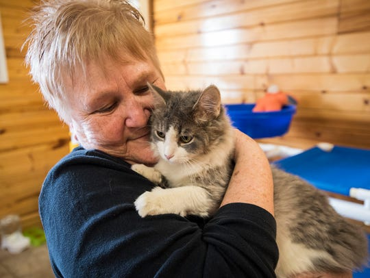 St. Clair County Animal Control volunteer Pat Hendra