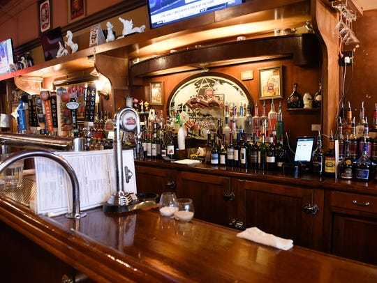 The White Horse Restaurant & Bar shown on March 22,
