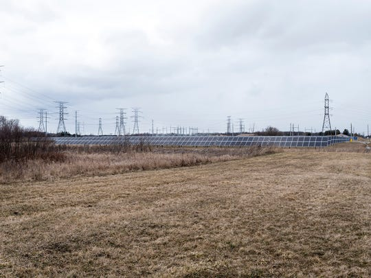 DTE's current solar plant in Greenwood Township opened