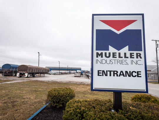 Mueller Brass is working with the Michigan Department of Environmental Quality to cleanup lead-contaminated soil in a Port Huron neighborhood.