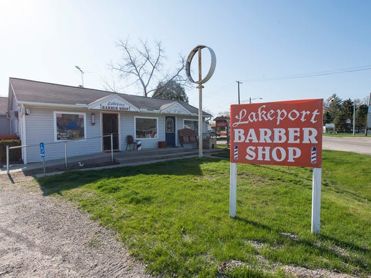 Eight years ago, Jason Milhoan bought the Lakeport Barber Shop, 7125 Lakeshore Road, Lakeport, from his brother.