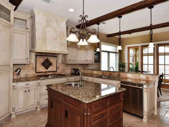 565 Windrose Circle, the chef's kitchen with high-end