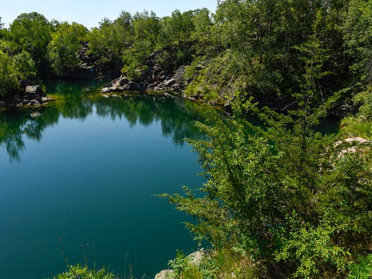 A quarry will be a feature for visitors to see at the