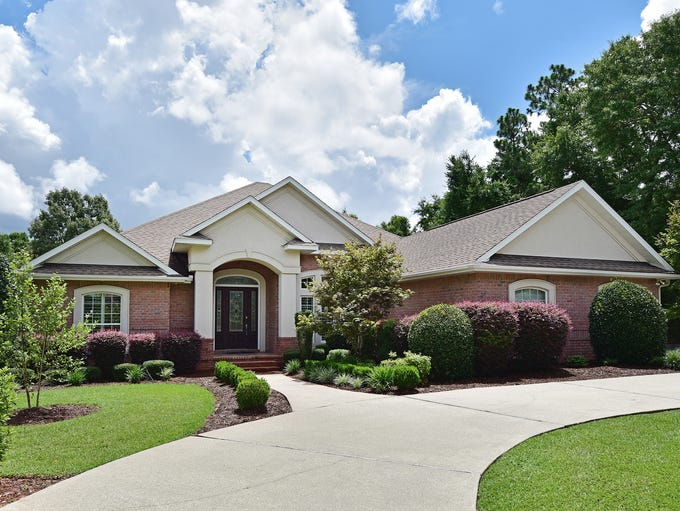 9514 Lucida Lane, front view.