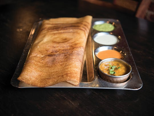 Masala Dosa from Dhaba in Westwood.