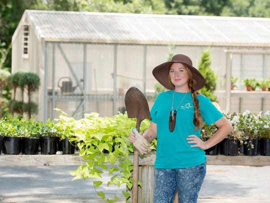 Taylor Gantt is the horticulture department manager