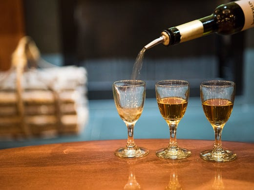 Guests at Le Cellier can cool off with a flight of
