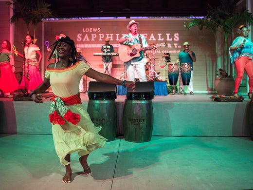 Dining and dancing are equal parts of the Caribbean