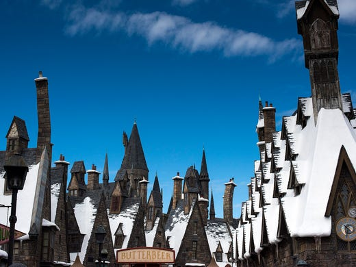 Harry Potter fans can experience the novel series'