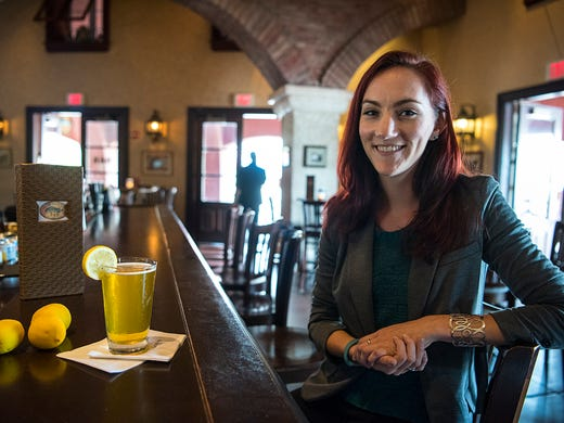 Emily Brant, assistant beverage manager of the Thirsty