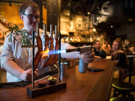 Will Green, sous chef at The Edison at Disney Springs,