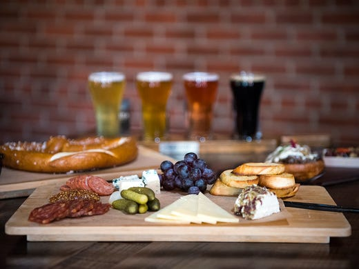 BaseLine Tap House offers small bites such as the California