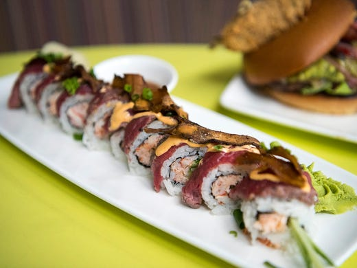 The Cowfish Sushi Burger Bar is known for a unique