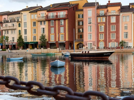 Resort properties around the theme parks offer prime