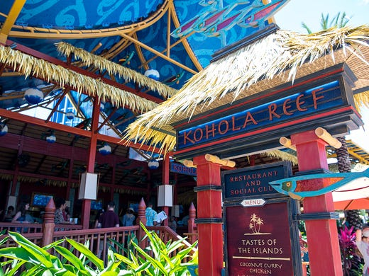 Open for about a year, the Kohola Reef Restaurant &