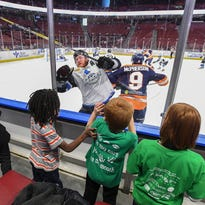 Swamp Rabbits host Middle School Education Day