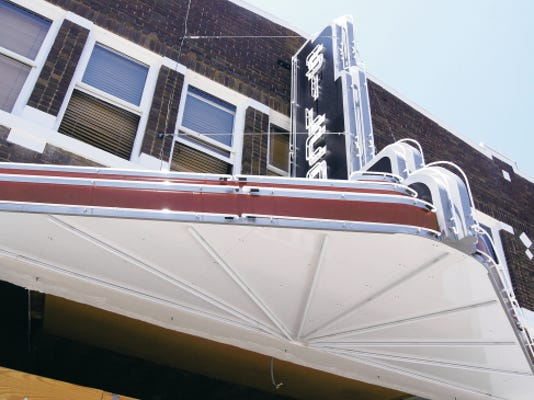 The Silco Theater, seen on Monday, was one of two historic theaters to receive a 100,000 grant from the state Economic Development Department under the Historic Theater Initiative, officials announced on Monday. Randal Seyler - Sun-News