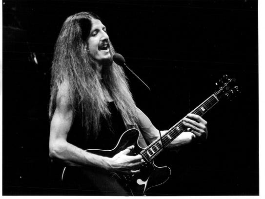 Patrick Simmons, seen performing with the Doobie Brothers